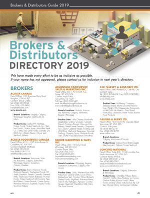 WRN WINTER 2019 BROKERS DISTRIBUTORS Cover 300w